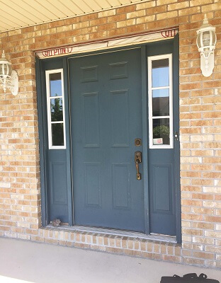 Fiberglass Entry Door Replacement Before
