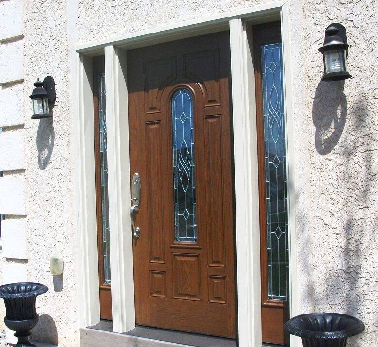 fiberglass entry door now