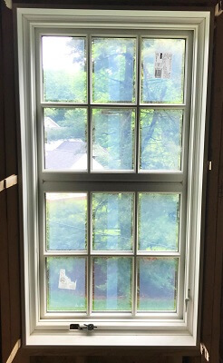 gladwyne home gets new wood custom casement window