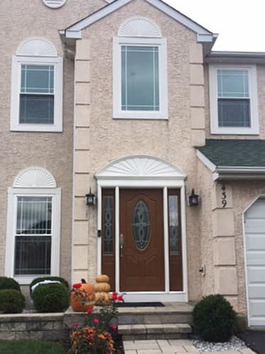 Replacement Windows & Entry Door Boost Curb Appeal of Harleysville Home