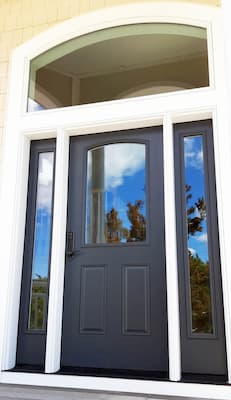 New Fiberglass Door System Enhances Entryway