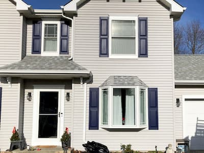 Wood and Vinyl Windows Renovate Mantua Home