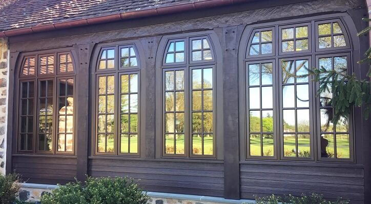 Window Replacement for Historic Golf Clubhouse