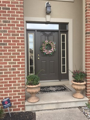 philadelphia home gets new fiberglass front entry door