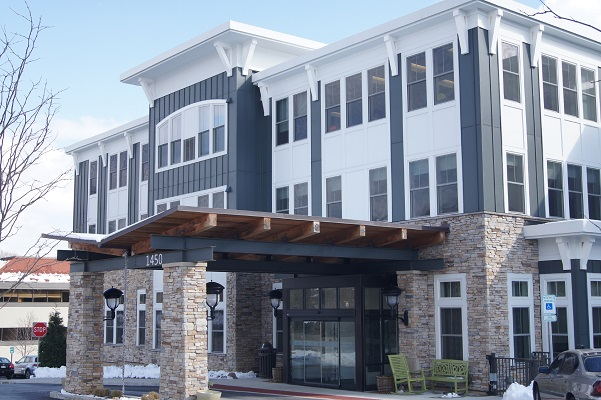 new fiberglass windows on paoli retirement center
