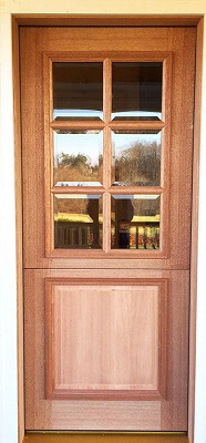 Historically Accurate Dutch Door for Butler Pantry in Villanova Home