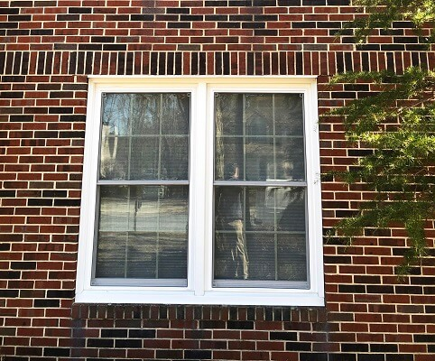 after image of vorhees home with new vinyl double hung window