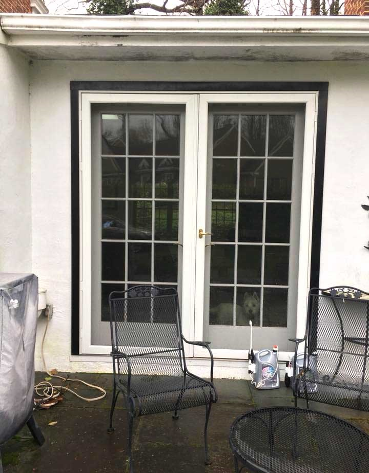patio door replacement - exterior