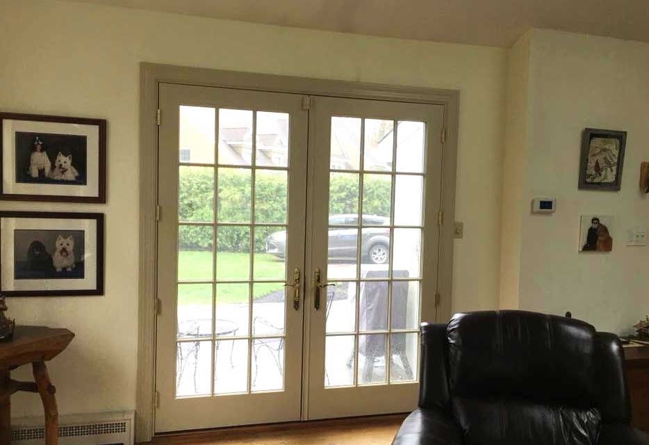 patio door replacement - interior