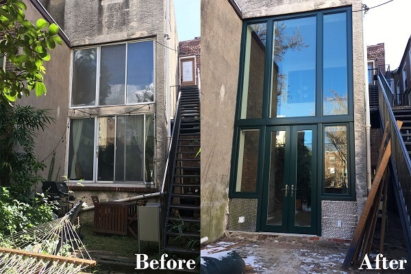 New Windows Complete Backyard Transformation