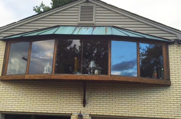 Wood Bay Window Replacement