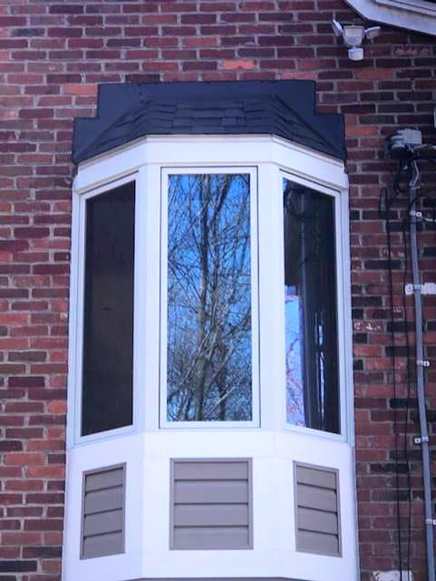 allison park home - bay window project - outside home