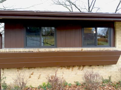 Pella 250 Series Sliding Windows Replace Old Aluminum Sliders for a More Energy Efficient Pittsburgh Home