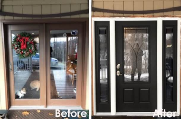 Entry Door Replacement Fits Home