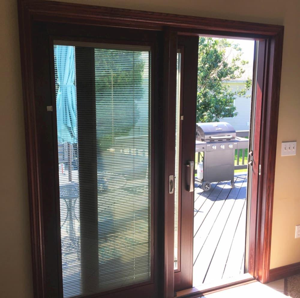 Pella Sliding Doors >> Pella ® Lifestyle Series Patio Door Upgrades Erie Home — Pella Pittsburgh