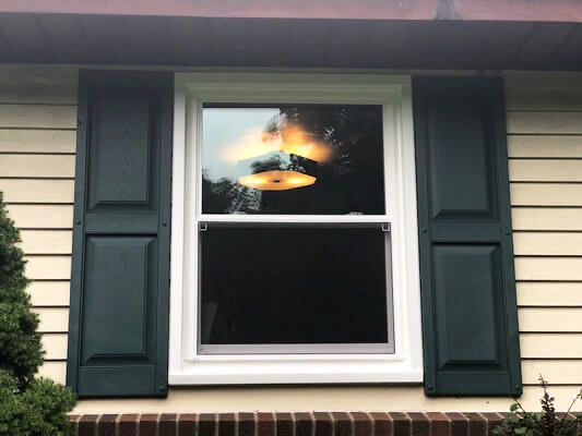 after image of pittsburgh home with new wood double-hung and casement windows