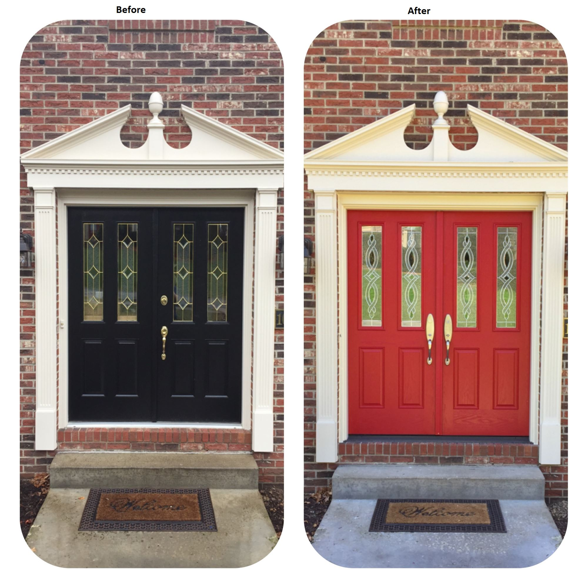 Pella entry door system michigan city in for Entry door replacement