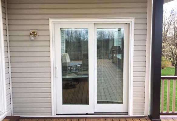 sliding patio door replacement project