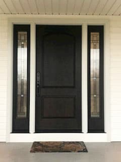 Fiberglass Replacement Door Modernizes State College Home