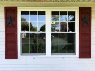 vinyl windows with grilles