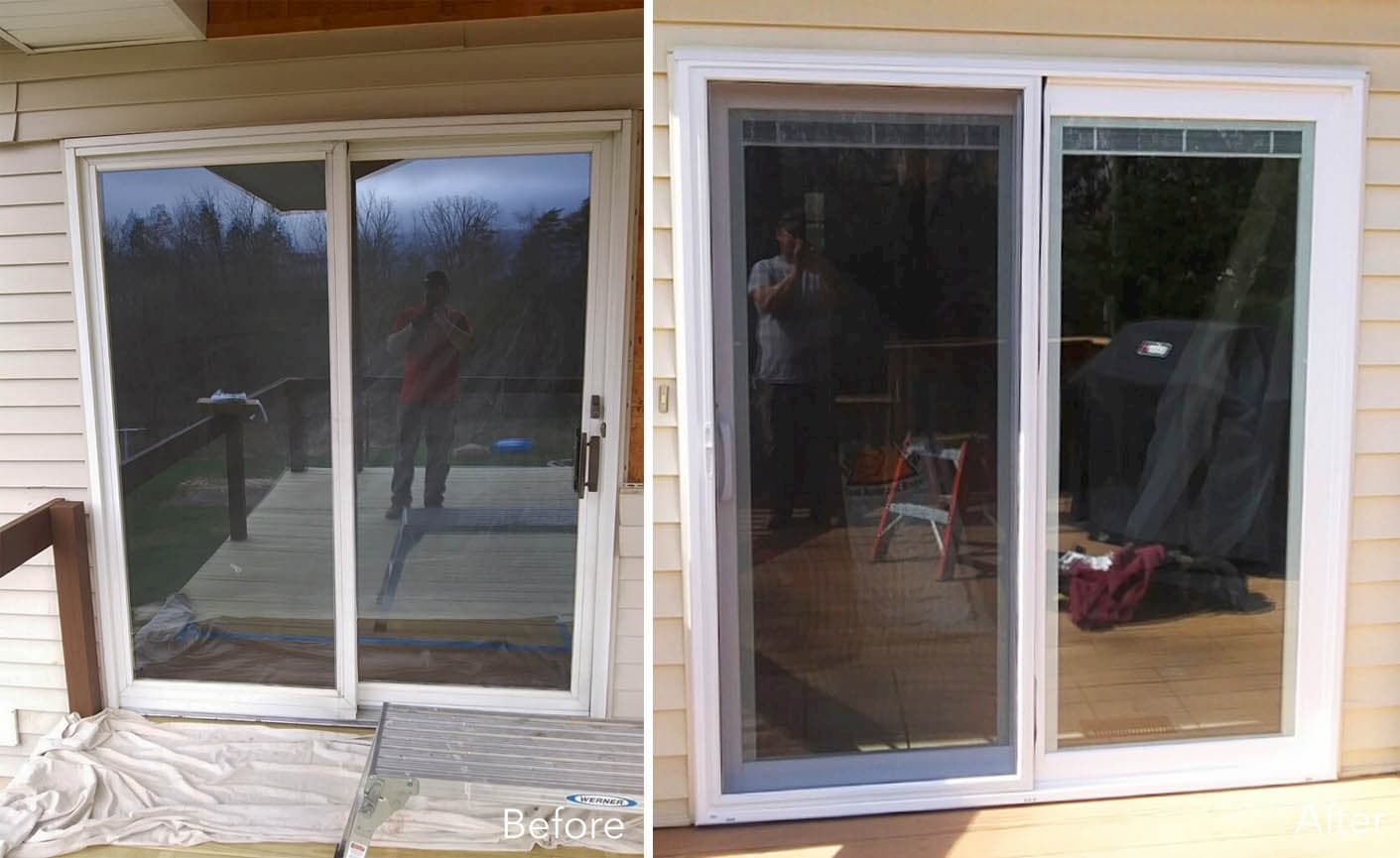 Replacement Sliding Patio Door Improves Functionality