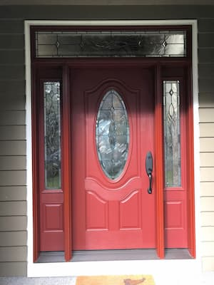 New Entry Door Enhances Beaverton Home Entryway