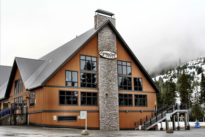 Cypress Creek Day Lodge - Built in 2008 prior to 2010 Winter Olympics