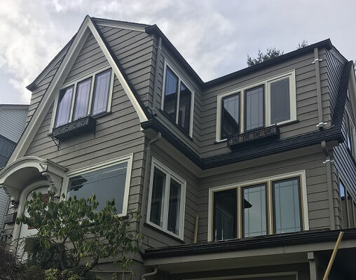 Black Fiberglass Windows Update Tacoma Home