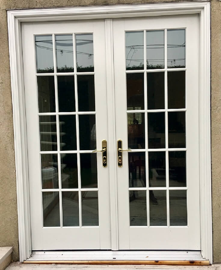 New Double Hung Window Amp Hinged French Patio Door In
