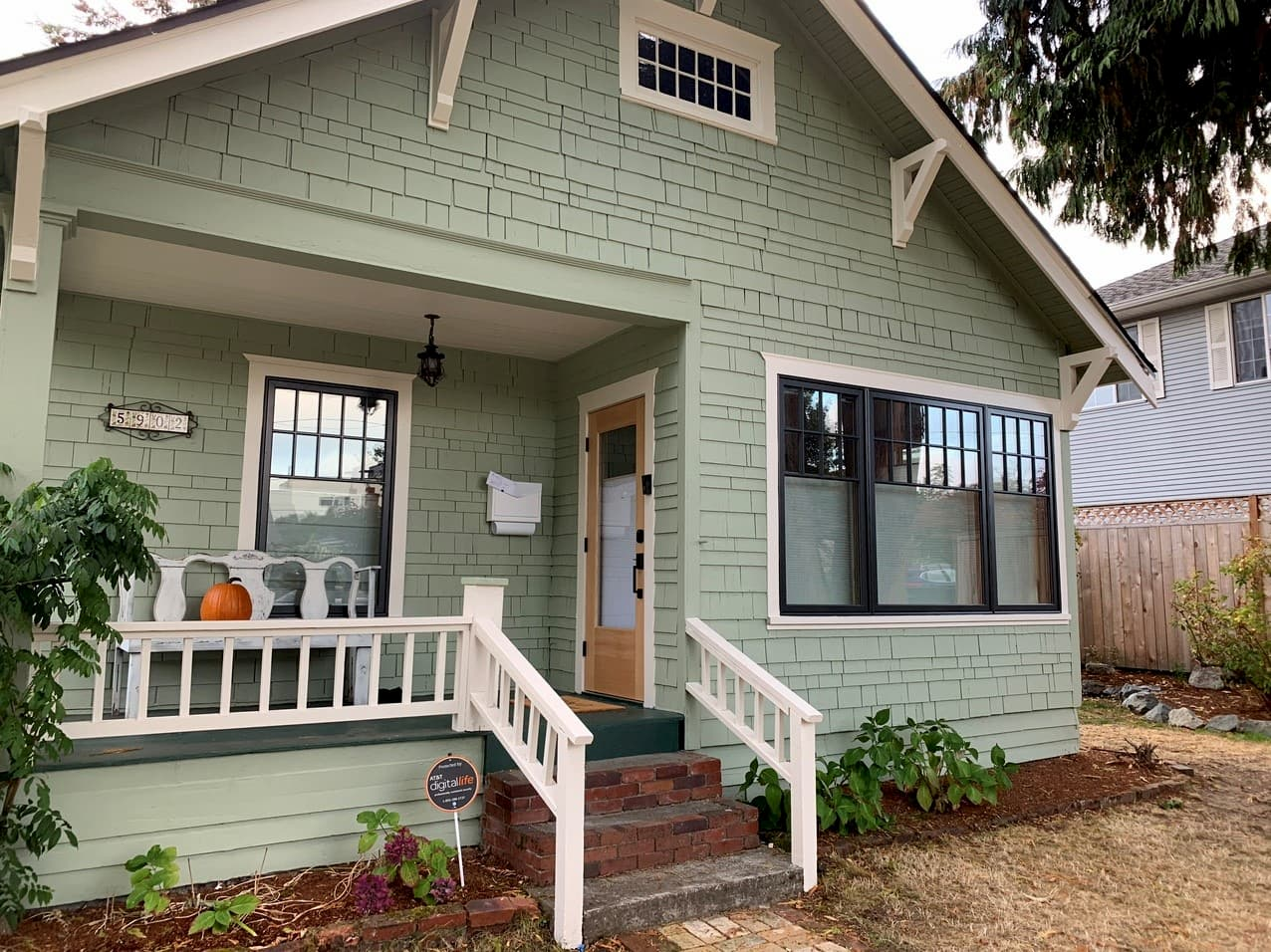 seattle home with new window replacement