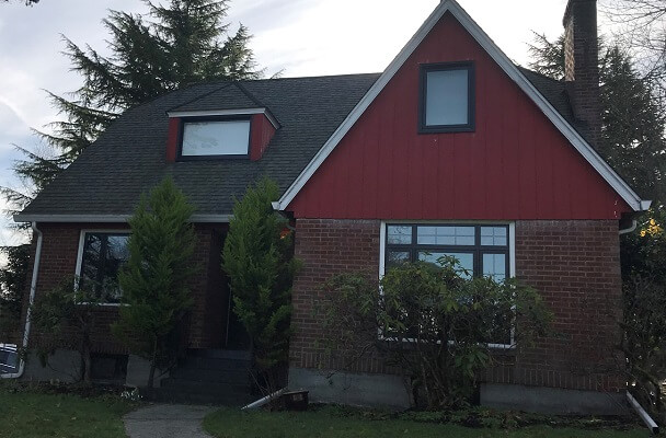 Black Replacement Windows Modernize Tacoma Home