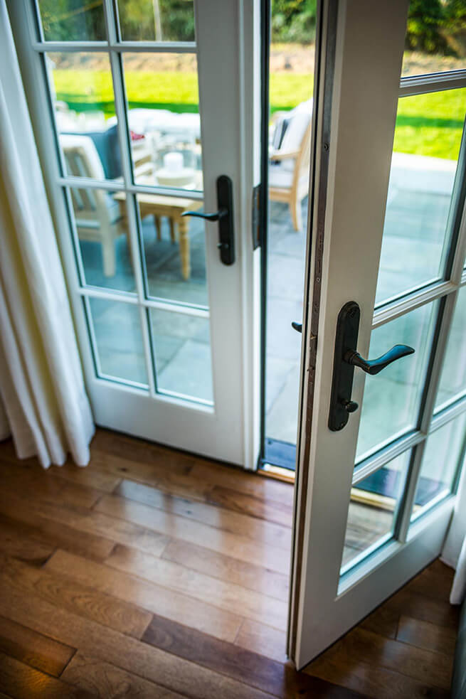 French patio doors on the 2015 HGTV Dream Home in Martha's Vineyard