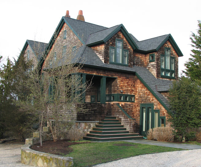 shingled rhode island home