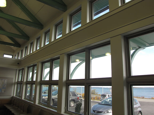 Interior view of Rhode Island Turnpike and Bridge Authority building