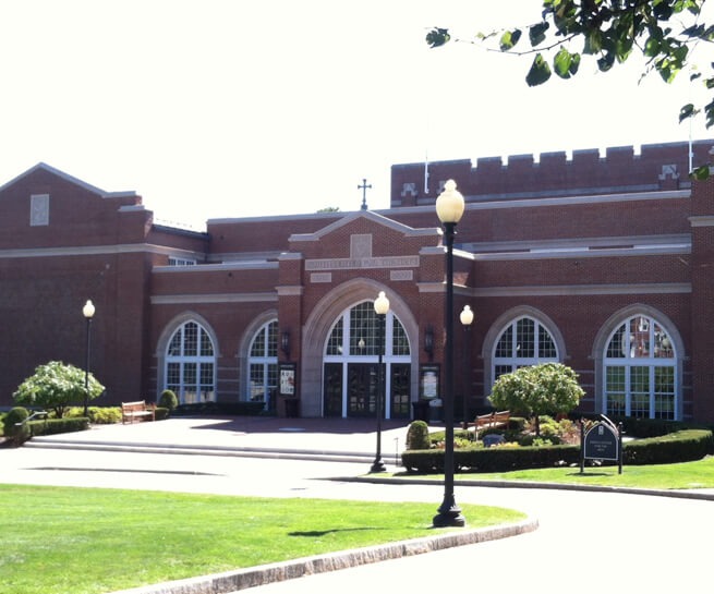 Exterior of Smith Center for the Arts at Providence College