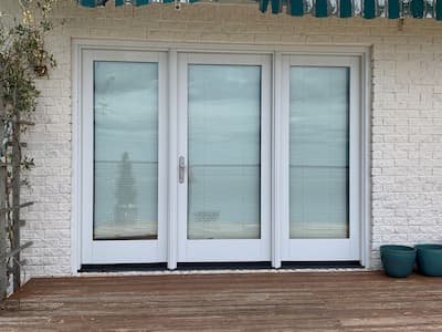 French Patio Door Replacement a Success in South Burlington