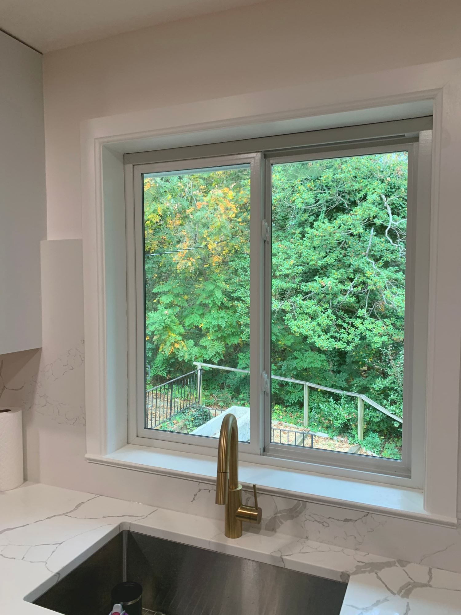 Impervia Sliding Windows Increase Airflow for Charlottesville Home
