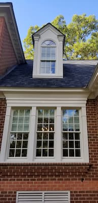 Poplar White Windows & Doors for Midlothian Home