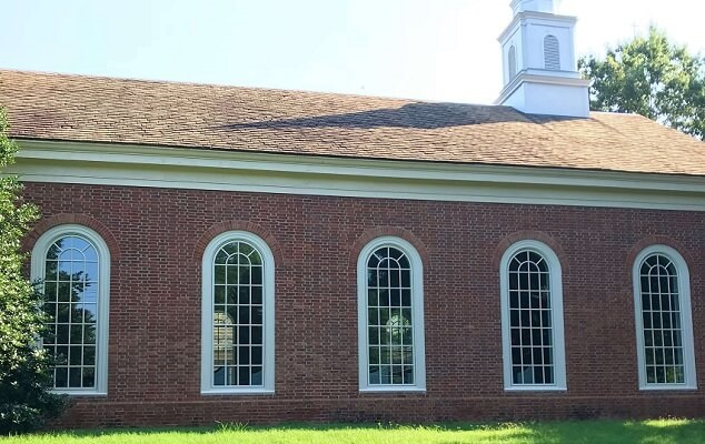 Second Baptist Church Wood Window Replacement