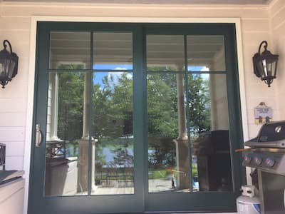 Charles City Homeowner Maximizes Space with Sliding Glass Door