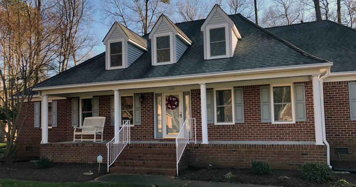 Chesapeake City Home Adds 350 Series Vinyl Windows