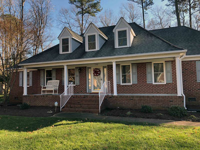 Chesapeake City Home Adds 350 Series Double-Hung Windows
