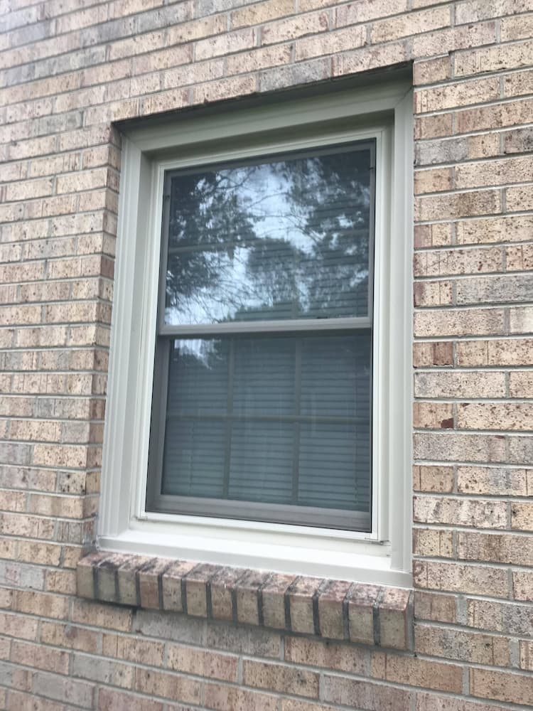 Replacement Vinyl Window Refresh Colonial Heights Home