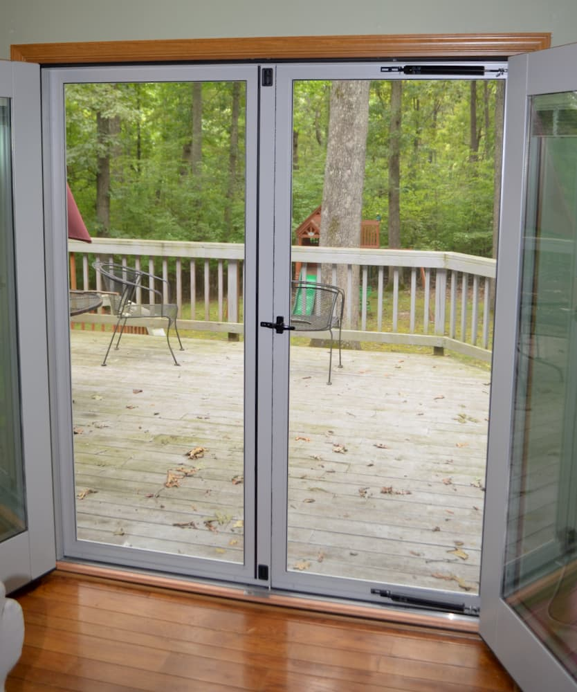 New In Swing French Door In Crozet Pella Virginia