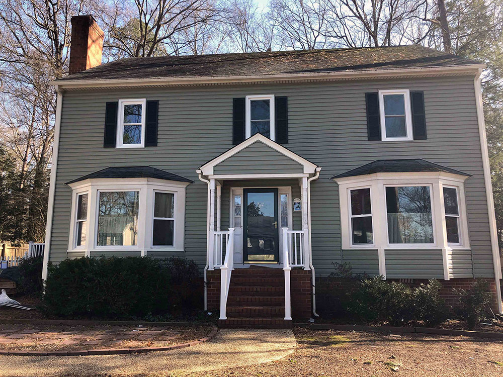 Encompass Series vinyl windows boost curb appeal of Henrico, VA, home