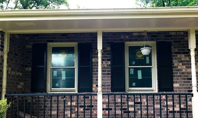 wood double-hung replacement windows in hopewell, va