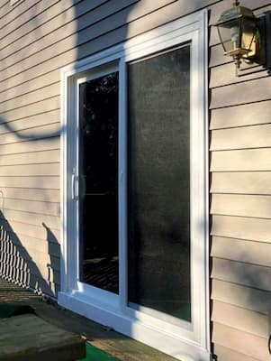 Pella 250 Series Sliding Door Refreshes Mechanicsville Deck