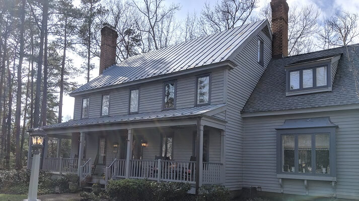 New Wood Casement Windows in Historic Richmond Home