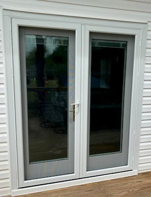 Hinged French Patio Doors Update Suffolk Home