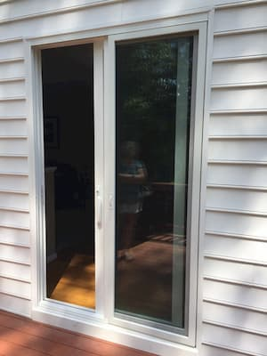 Patio Door Replacement: French to Sliding
